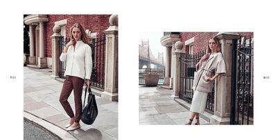 HUNTER & GATTI shot Massimo Duttis F/W 15 NYC Collection