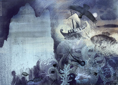 BALBUSSO TWINS Sea Make the earth your companion by J. Patrick Lewis  picture children book