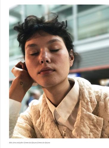 LIGANORD HAMBURG/BERLIN Helena Narra / Make-up für Sleek Magazine Issue 54