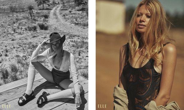 NINA KLEIN - Stylist Mascha Möller - Hair & Make up Sabine Högerl - Marie Schmidt - Elle Tschechien