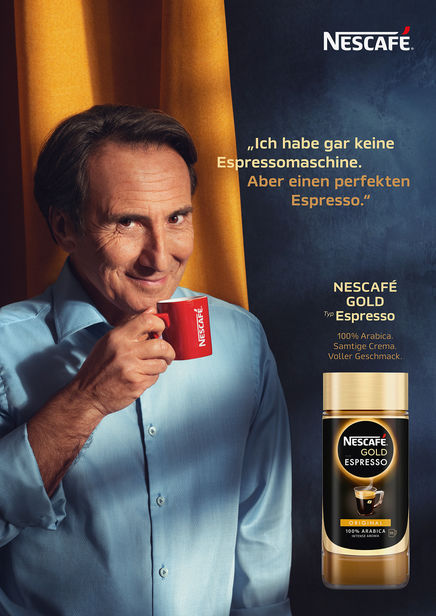 MARKUS MUELLER for Nescafe