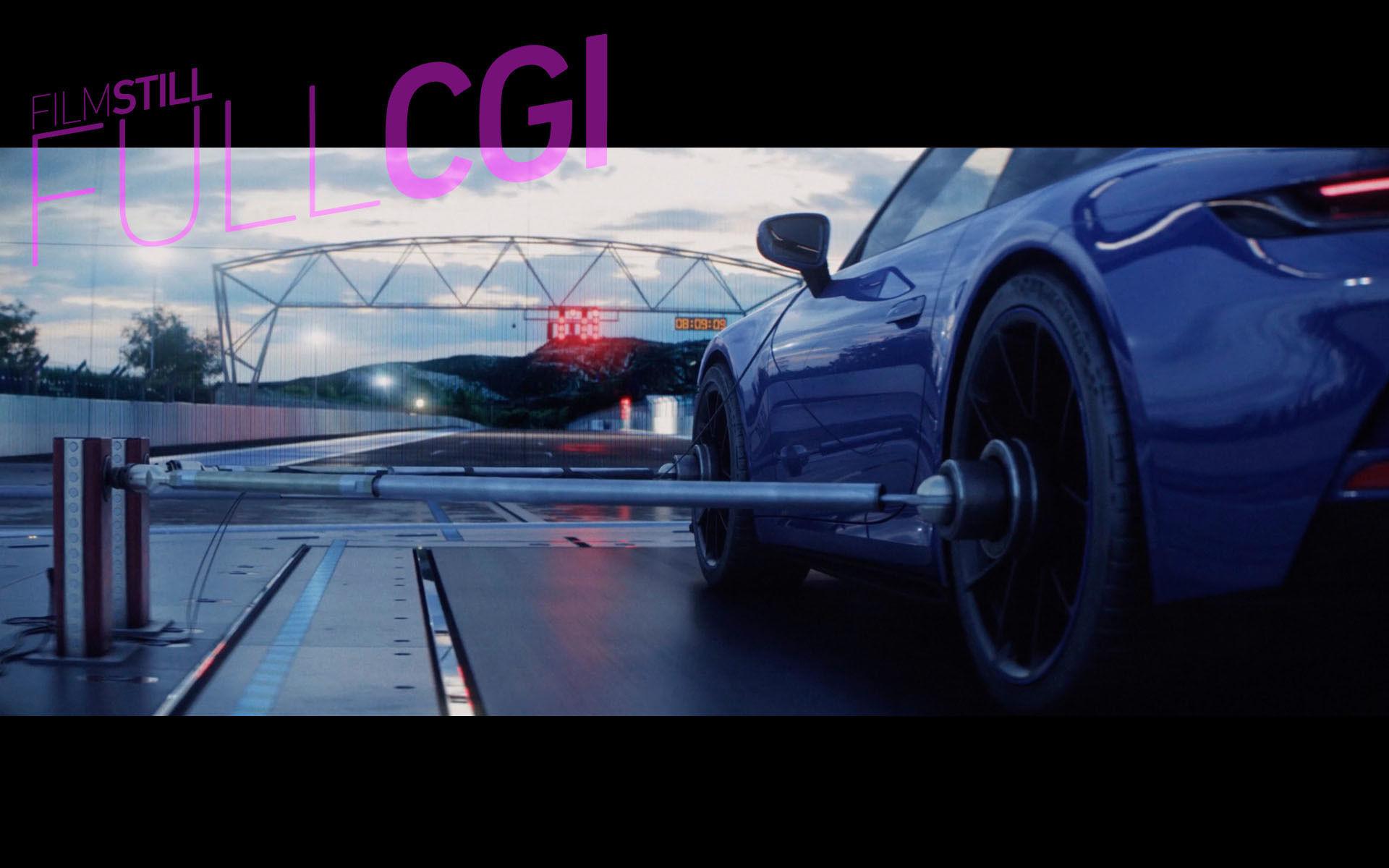 RECOM FILM : On the Track with the PORSCHE 911 GT3 - FULL-CGI Film-Stills