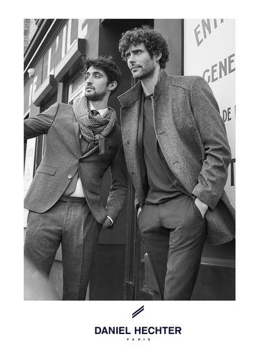 DANIEL HECHTER campaign & lookbook, shot in the streets of Paris by ROGER WEBER