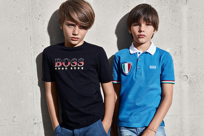 Hugo Boss Kids Spring Summer 18