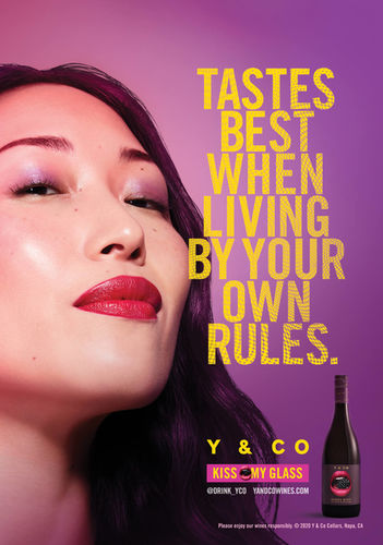 GLAM PRODUCTION produced latest campaign for wine company Y & CO