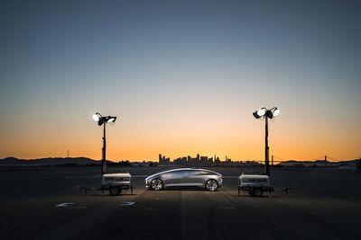STUDIO DAVID FISCHER: Mercedes Benz F015 for Intersection Magazine