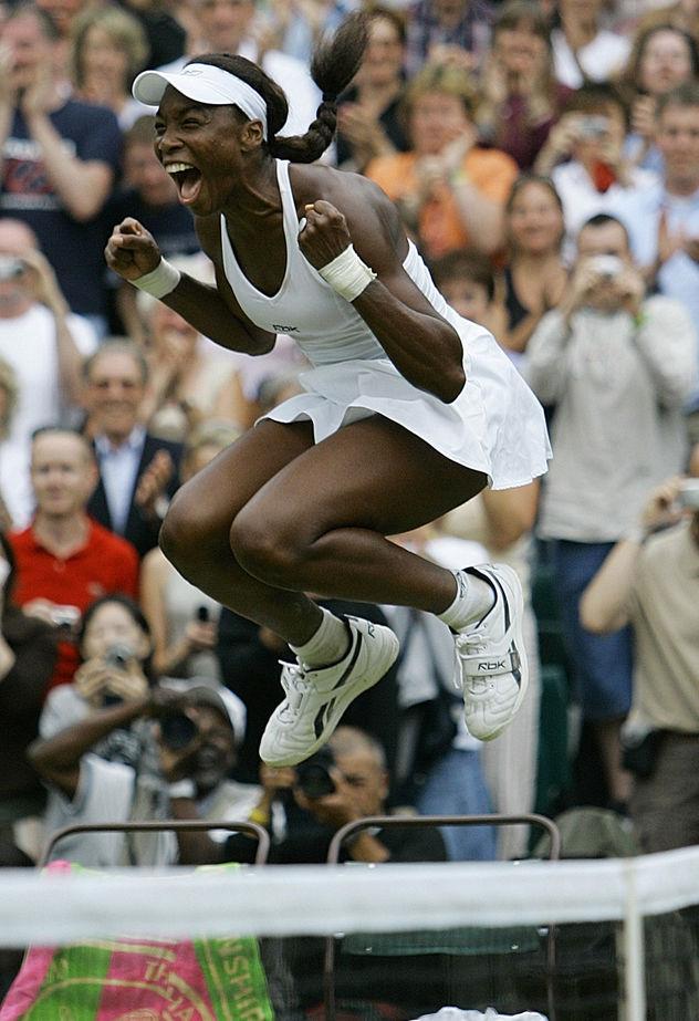 GOSEE ART: Venus Williams, Wimbledon, 29. Juni 2005 © Anja Niedringhaus/AP