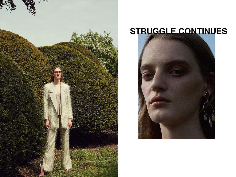 NINA KLEIN, Adelaida Cue Baer, Fee Steinvorth, Struggle Continues, Quality Magazine,