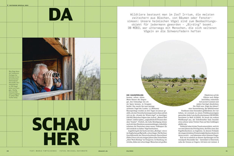 KLAUS STIEGEMEYER: Michael Rathmayr for DB Mobil