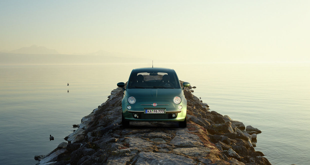 "SEVERIN WENDELER: TRANSPORTATION SPECIAL ""FIAT 500"" Photography & CGI Project by Sebastien Staub c/o Severin Wendeler"