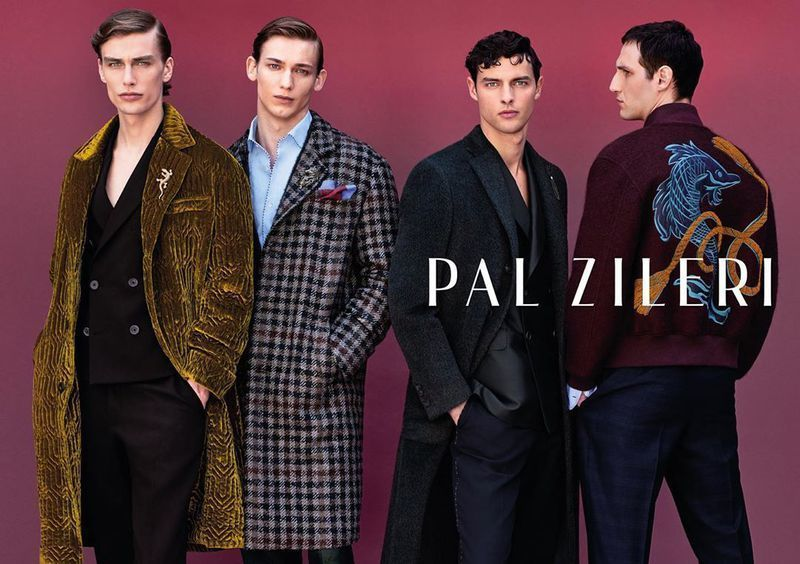 VIVA MODELS: Marc Schulze for Pal Zileri f/w 2019 campaign