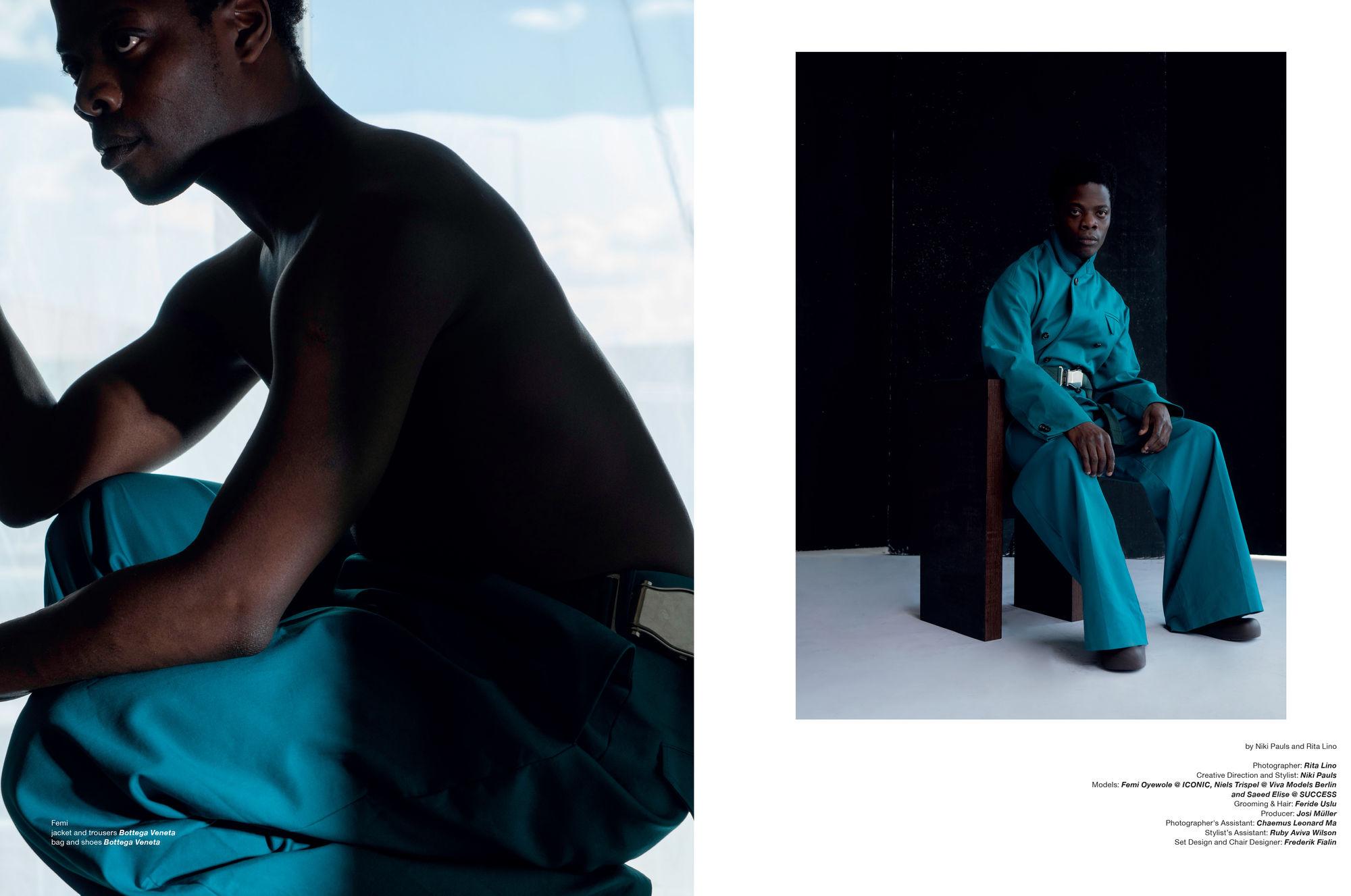 Berlin Based Femi Oyewole for ZOO Magazine No.70 Cover Story ICONIC