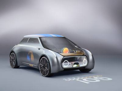 Studio Amos Fricke: The MINI VISION NEXT100 for BMW.