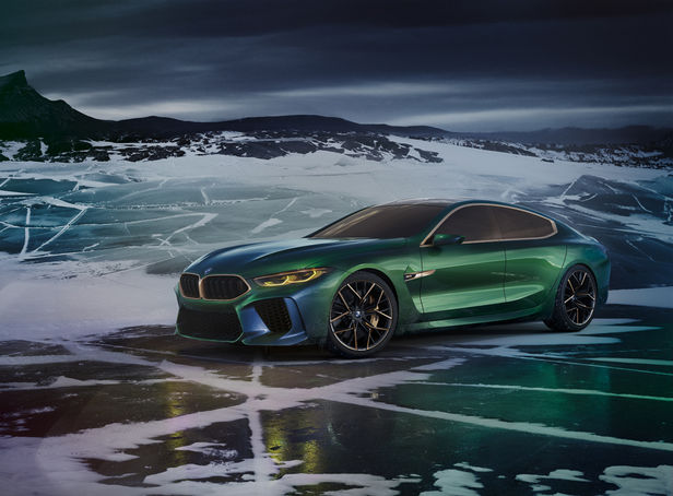 "SEVERIN WENDELER ""BMW Concept M8 Gran Coupé"" by Agnieszka Doroszewicz c/o Severin Wendeler"