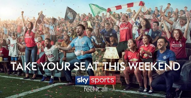 Sky Sports by Finlay Mackay c/o MAKING PICTURES