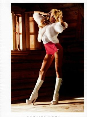 MUNICH MODELS : Candice SWANEPOEL for V MAGAZINE