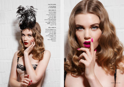 CLOSE UP AGENCY :  Diana GALANTE for COCOON