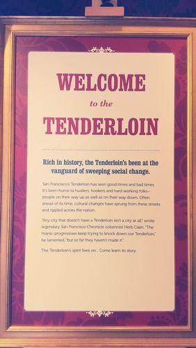 TENDERLOIN MUSEUM SAN FRANCISCO