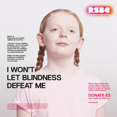 Spencer MURPHY for ROYAL SOCIETY OF BLIND CHILDREN
