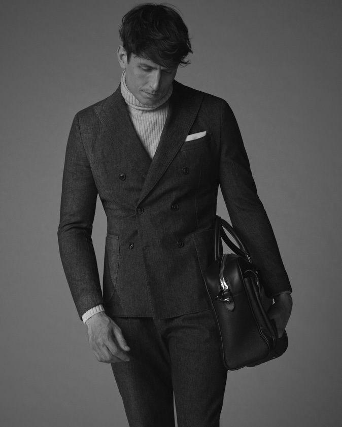 ANDREAS ORTNER:  Actor NORMAN WATKINS for WINDSOR FW 2020