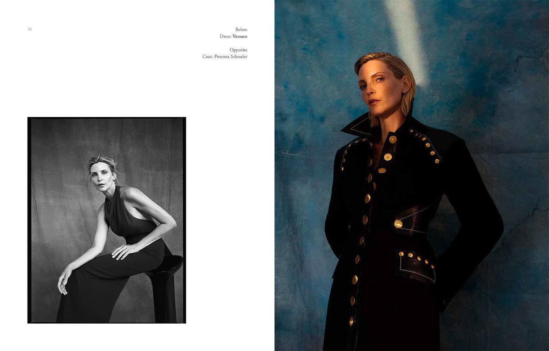NINA KLEIN, Melanie Schoene, Nadja Auermann, Renaisaance Magazine