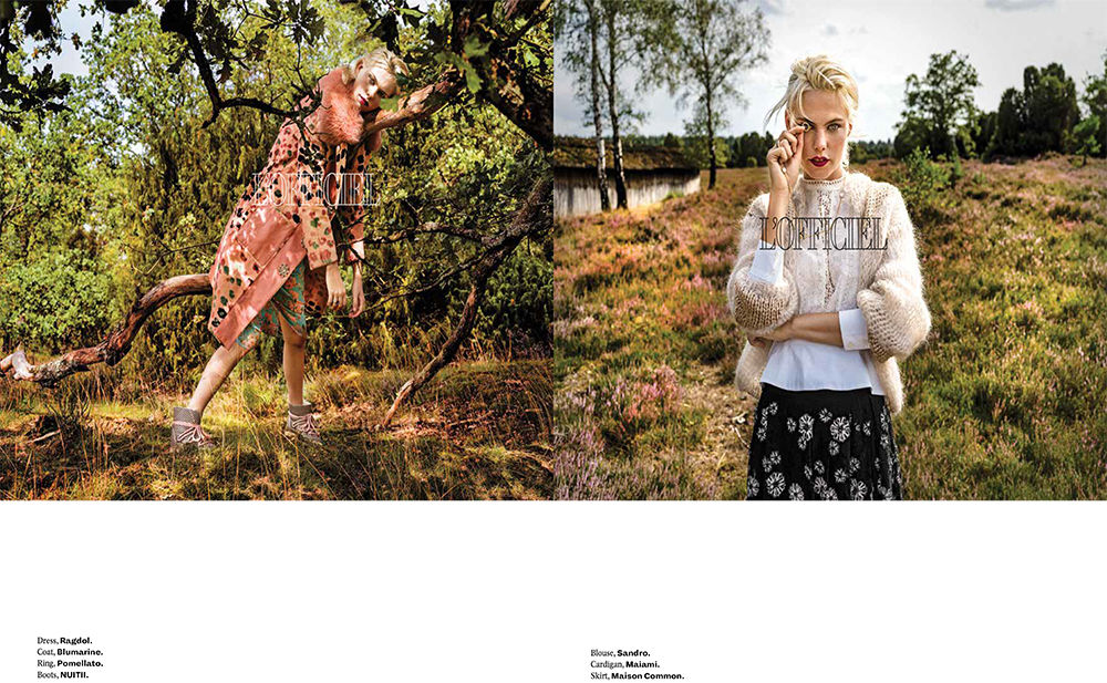 HAUSER FOTOGRAFEN: LEIF SCHMODDE  for L'OFFICIEL