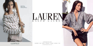 MUNICH MODELS : CHIARA Baschetti for GLENFIELD / RALPH LAUREN