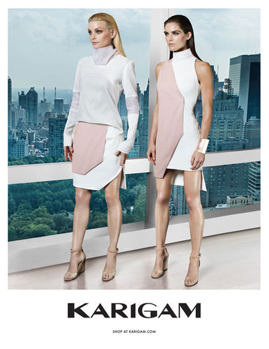 JESSICA STAM & HILARY RHODA FOR KARIGAM