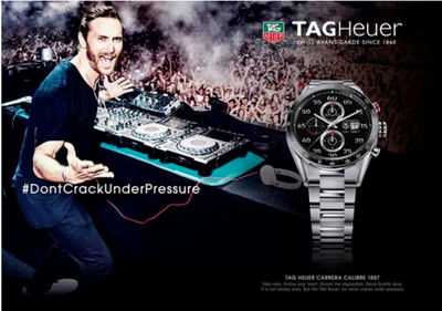 21 SUN PRODUCTIONS BRAZIL: David Guetta for TAGHEUER