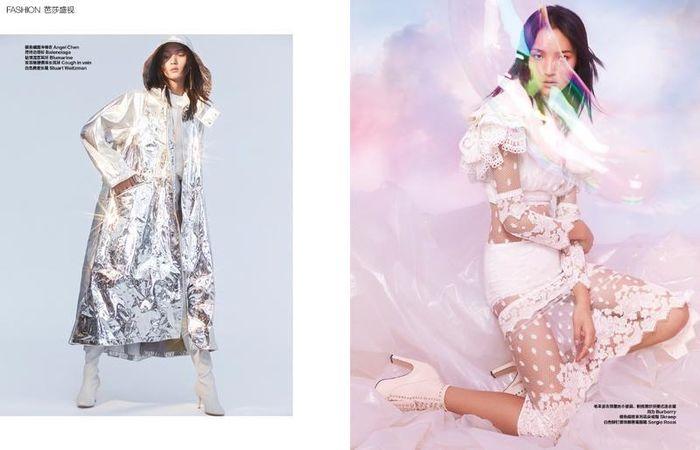 Luping for Harpers Bazaar China shot by Ko Guo Qiang