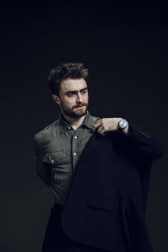 Cover Story with Daniel Radcliffe for Esquire Middle East by Robert Wunsch
