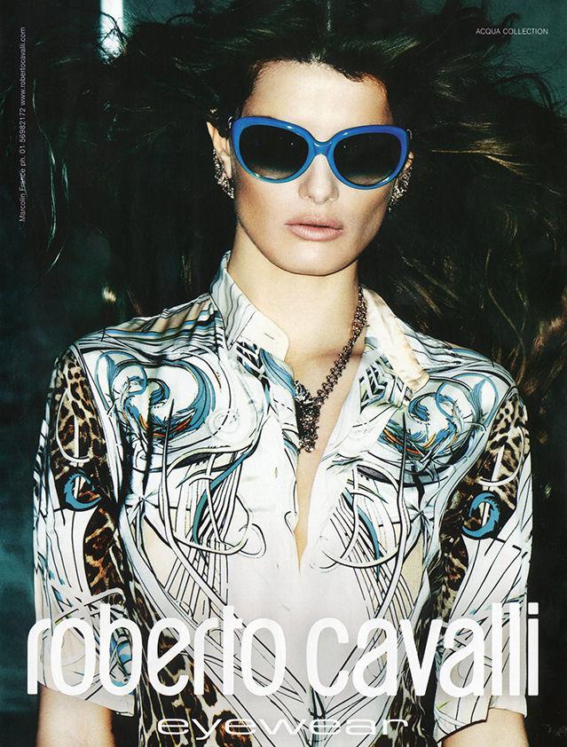 LOUISA MODELS : Isabeli FONTANA for ROBERTO CAVALLI EYEWEAR S/S 2013