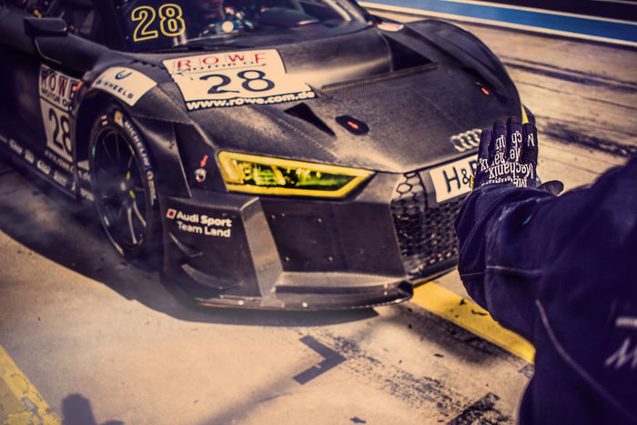 Audi R8 LMS Ultra GT3 Team Land Motorsport