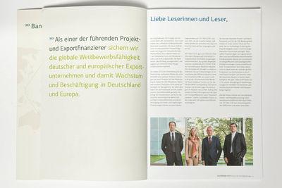 KFW IPEX-Bank Annual Report 2013 / Geschäftsbericht 2013