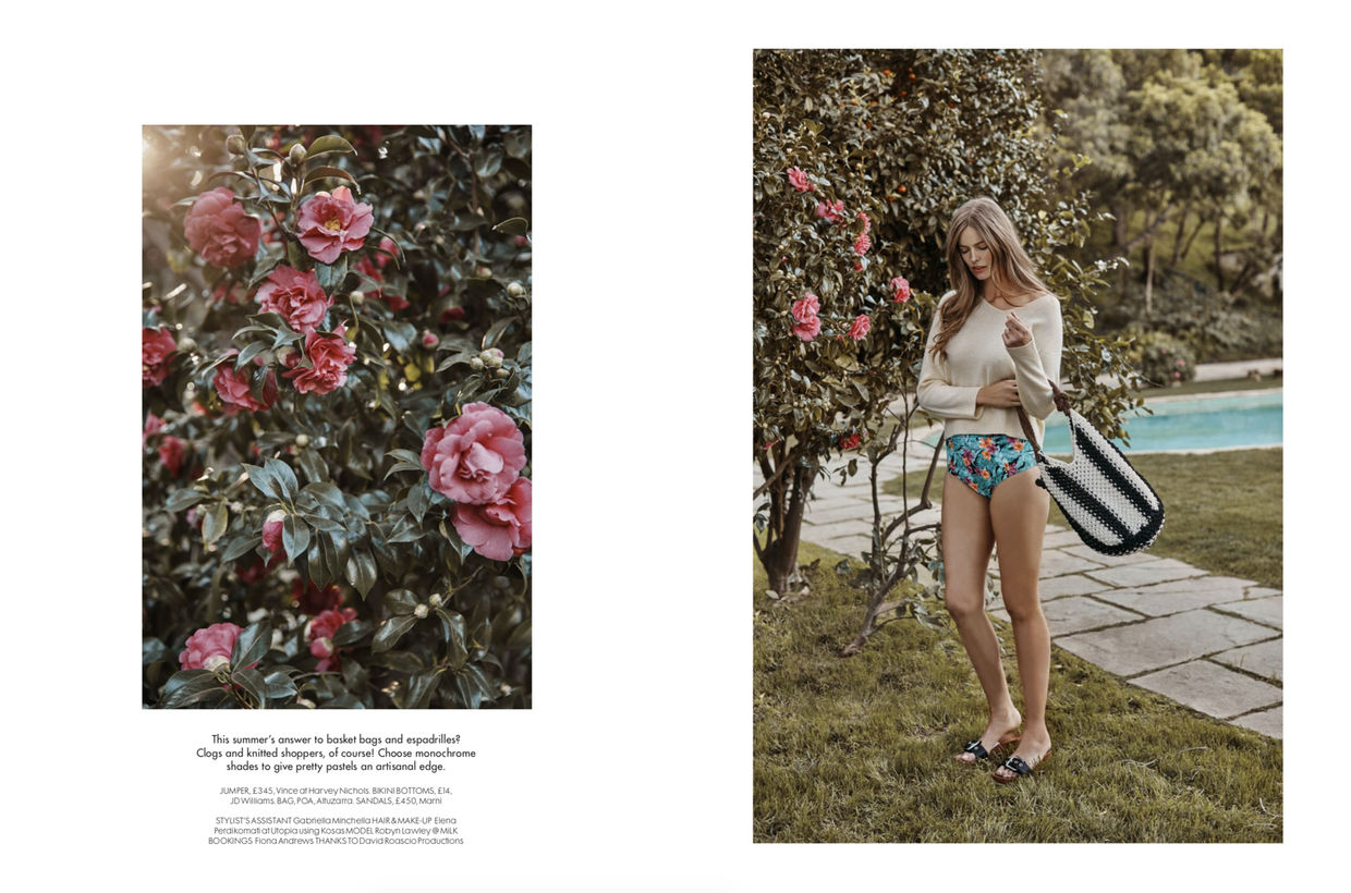 ALYSSA PIZER MANAGEMENT: Red Magazine By Colette de Barros