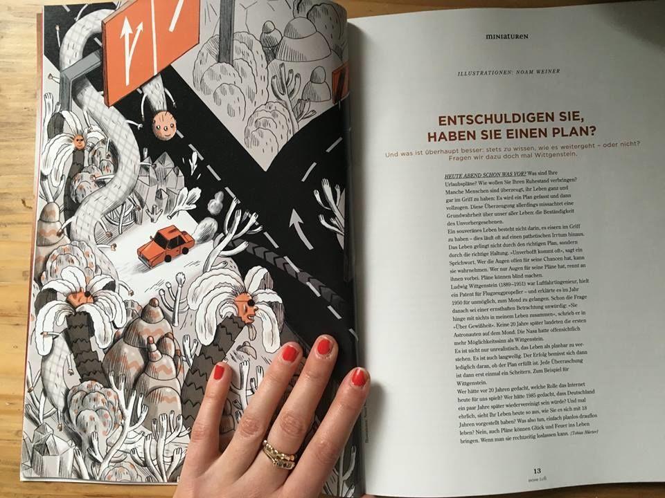 2AGENTEN : Noam WEINER for German philosophy magazine HOHE LUFT