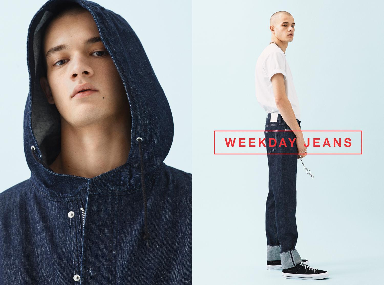 Weekday Jeans SS 17 by Johan Sandberg c/o LUNDLUND