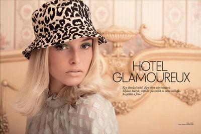 """Carsten Richert for ELLE  """"HOTEL GLAMOUREUX"""""""