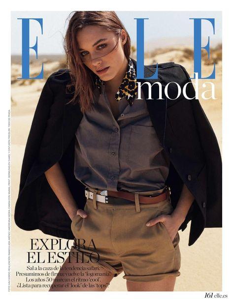 Leoni for Elle Spain by Xavi Gordo