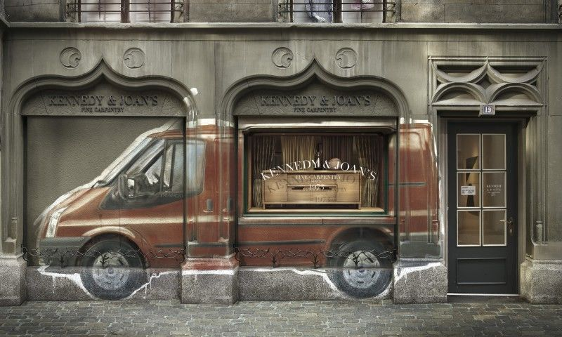VISUALEYES : CARIOCA for FORD TRANSIT