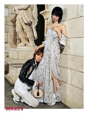 Freja for Louis Vuitton Spring / Summer 2018