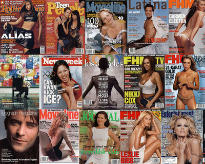 GLAMPR Celebrity Covers