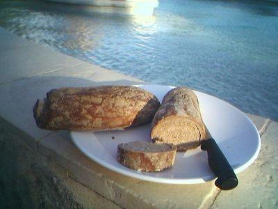 Swimmer's Bread,in Provence