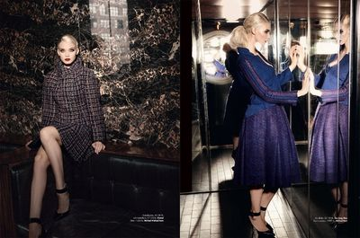 the new new look fuer PLAZA magazine sweden