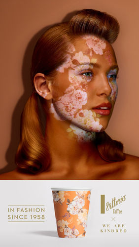Cream Electric Art c/o JSR AGENCY : Gorgeous retouching brief for Vittoria Coffee