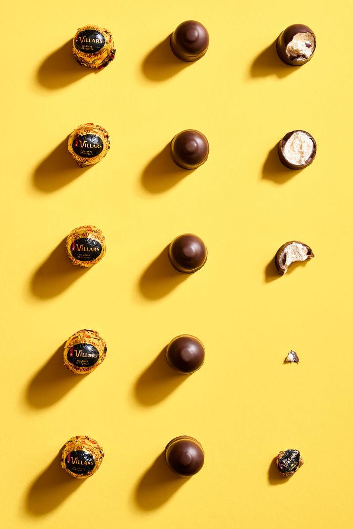 Villars Chocolate Teacakes in pop art fashion