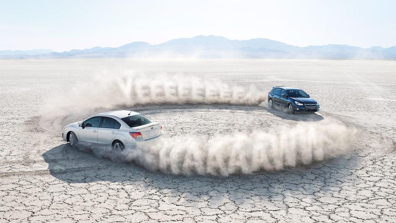 Subaru – Duelling Imprezas