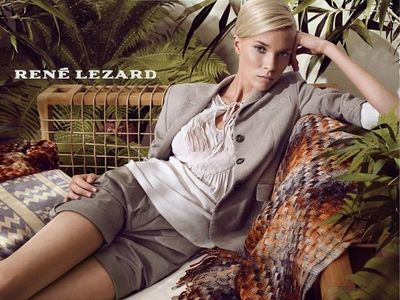 K STIEGEMEYER : Claudia SCHOLTAN for RENÉ LEZARD