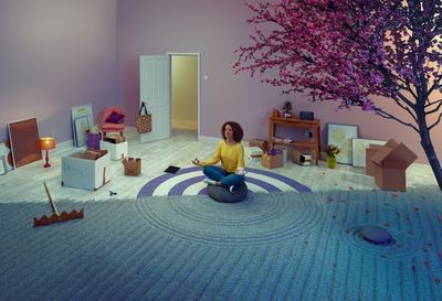 TODD ANTONY for BT (British Telecom) aimed at people who are moving home, highlighting how easy it is to transfer your BT services across. The images were very elaborate set builds in studio, with the exception of the river of course!