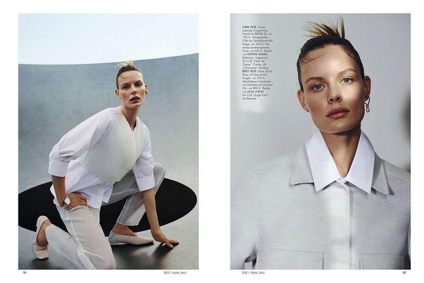 NINA KLEIN, Hair & Make Up: Benjamin Becher, James Meakin, ELLE Germany